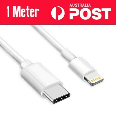 AU5.99 • Buy PD Fast Charging Lightning To USB Type C Cable Apple IPhone 11 Pro Max X XR IPad
