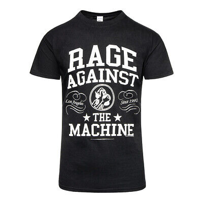 Official T Shirt RAGE AGAINST THE MACHINE Black & White CROWN Band Tee All Sizes • 13.60£