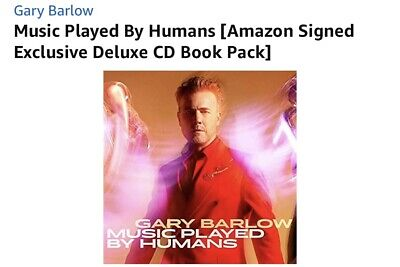 Gary Barlow Signed Cd Album Music Played By Humans  • 39.99£