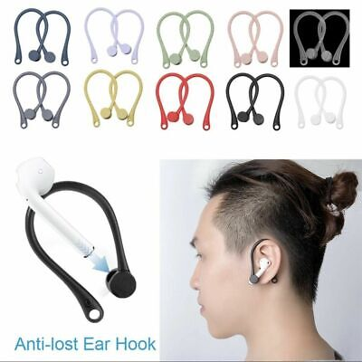 $ CDN5.97 • Buy 1Pair Earhook Holder For AirPods S1 S2 Strap Silicone Sports Anti-lost Ears Hook