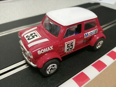 Vintage Scalextric 1:32 Slot Car - Mini Cooper - C2103 - Virtually 'Mint' • 7£