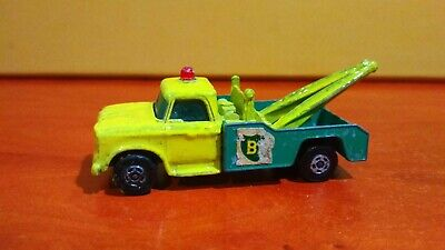 Dodge Wrecker Recovery Vehicle Car Tow Rescue Truck Matchbox Full Die-cast Toy • 3.99£