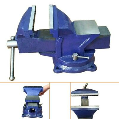 Metal Engineers Vice 4 In Vise Swivel Base 100mm Workshop Clamp Jaw Bench Table • 14.79£