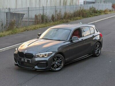 2015 65 FACELIFT BMW M135i 3.0 AUTO GREY 5DOOR RED LEATHERS FULLY LOADED PX SWAP • 16,995£