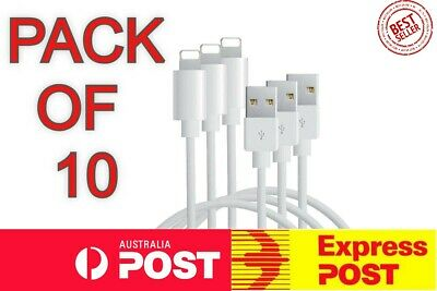 AU19.99 • Buy 10X Certified MFI Lightning Apple Fast Charger Charging Cable For IPhone & IPad