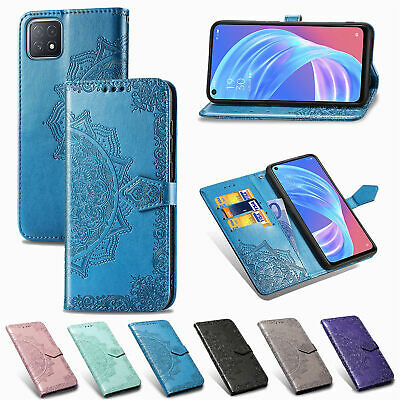 AU8.99 • Buy Mandala Wallet Flip Leather Case Cover For OPPO Realme C15 X7 Pro A53 2020 A72