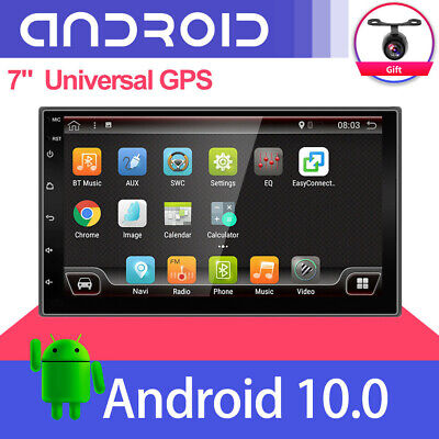 AU170 • Buy 7  Double 2 DIN Car Stereo In-Dash Head Unit Radio+Camera Mirror Link GPS Navi