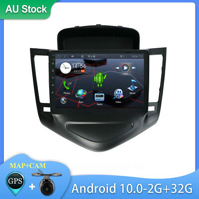 AU261 • Buy 9  Android 10 2 Din Car GPS Stereo Radio Head Unit For Chevrolet Cruze 2009-2014