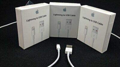 AU18.95 • Buy 3X Genuine Apple IPhone USB To Lightning Charger Cable 1m - AU Stock