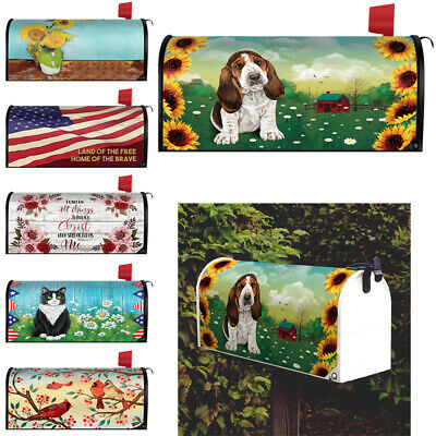 $16.99 • Buy 20.8  X 18  Design Outdoors Magnetic Mailbox Cover Standard Mail Wraps