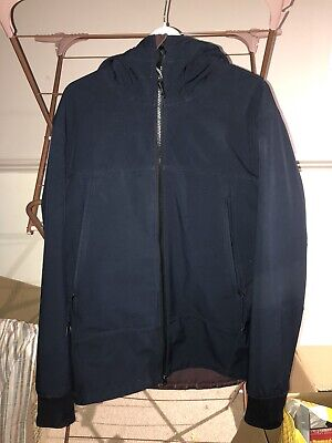 Cp Company Soft Shell Hooded Arm Lens Black Jacket 2xl Really Good Condition  • 90£