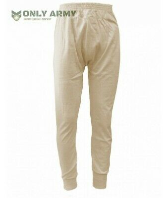 £6.99 • Buy NEW Italian Army Thermal Long Johns Base Layer Warm Winter Military 100% COTTON