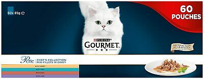 Gourmet Perle Chef's Collection In Gravy, 60 X 85 New Pack • 24.99£