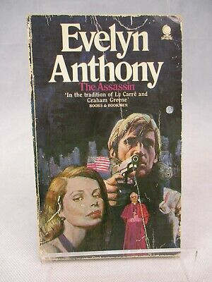 The Assassin Evelyn Anthony Paperback Sphere 1973 • 3.95£