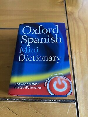 Oxford Spanish Mini Dictionary By Oxford Dictionaries (Paperback, 2011) • 2£