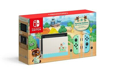 $ CDN435.25 • Buy Nintendo Switch Console 32GB Animal Crossing New Horizons Edition - IN HAND