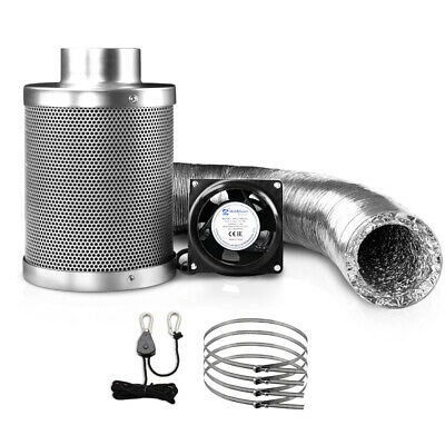 AU180.32 • Buy Green Fingers Ventilation Fan And Active Carbon Filter Ducting Kit