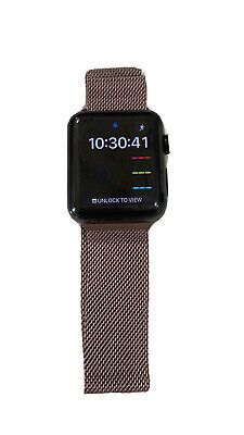 $ CDN351.51 • Buy Apple Watch Series 3 Stainless Steel Black 42 Mm With Cellular And GPS
