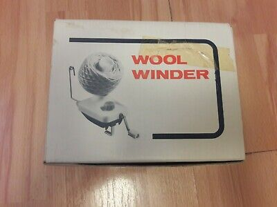 Wool Winder Cone Yarn Boxed With Leaflet • 16£