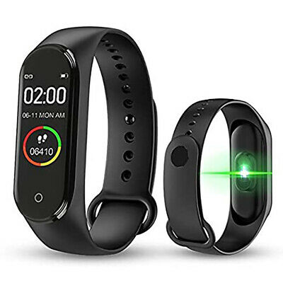 $ CDN7.43 • Buy Bluetooth Smart Wrist Watch M4 W/Tracker GSM Phone For IPhone Android Samsung LG