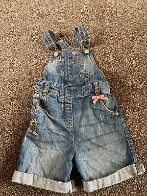 Girls Next Dungarees Aged 3-4 Years • 2.50£
