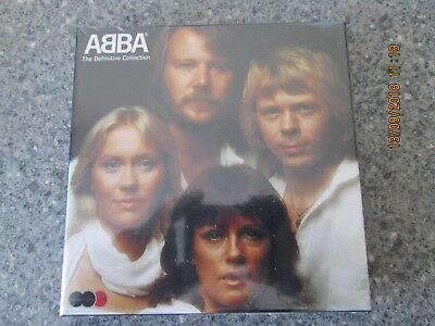 ABBA - Definitive Collection (2004) FACTORY SEALED - MINT CONDITION! COLLECTIBLE • 24.99£