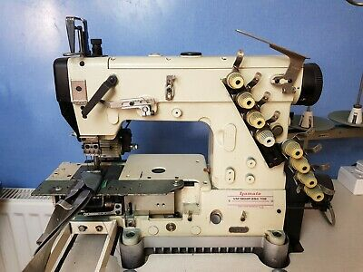 USED Yamato VM-1804P-254-102 4 Needle 8 Thread Cylinder Bed Double Chain Stitch • 1,150£