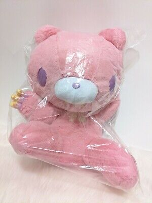 UK SELLER Chax GP Gloomy Bear Plush Pink Sherbet 45cm Horror Tone Japan NEW • 99£