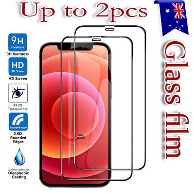 AU5.99 • Buy For IPhone 12 Mini 11 Pro Max XR XS X 7 8 6 Plus Tempered Glass Screen Protector