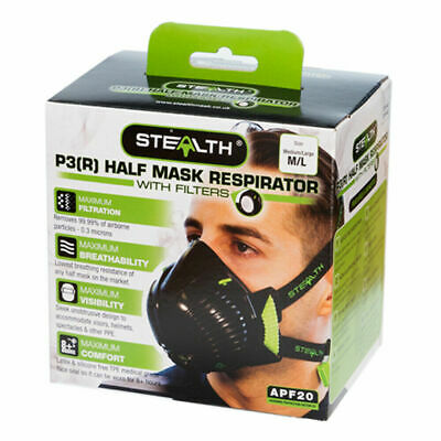 Stealth Mask P3 M/L NEW • 11.90£