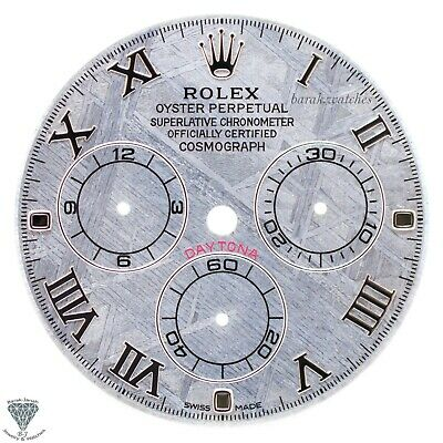 $ CDN2312.54 • Buy Meteorite Rolex Dial For Rolex Daytona 116509 For Caliber 4130