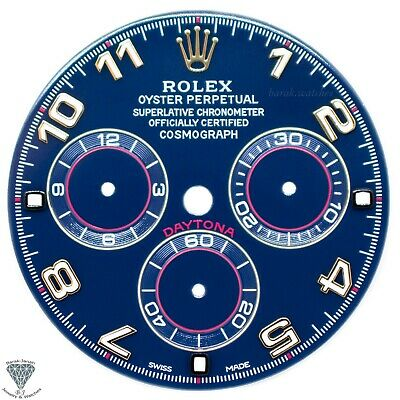$ CDN1255.38 • Buy Blue Numbers Rolex Dial For Rolex Daytona 116518, 116523 For Caliber 4130