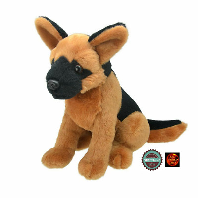 German Shepherd Dog Soft Plush Toy All About Nature By Wild Planet 8 Inch New • 11.50£