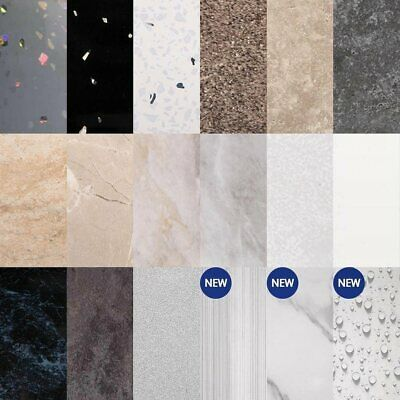 £59 • Buy Bathroom And Shower Wall Panels 18 Beautiful Designs 2.4mt X 1mt T & G Joints