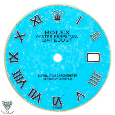 $ CDN827.84 • Buy Turquoise Rolex Dial For Rolex DateJust 36mm Caliber 3035 3135