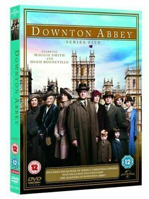 Downton Abbey: Series 5 (DVD, 2014, 3-Disc Set) • 12.50£