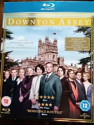Downton Abbey - Series 4 - Complete Blu-ray (DVD, 2013, 3-Disc Set, Box Set) • 1.80£