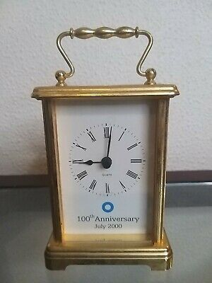 Metamec Quartz Carriage Clock 100th Anniversary July 2000 • 8£