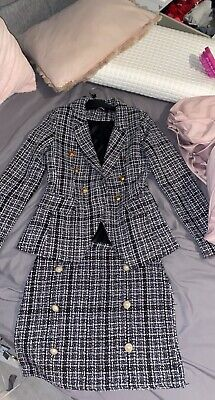 Blazer Co-ord Set Jacket And Skirt • 30£