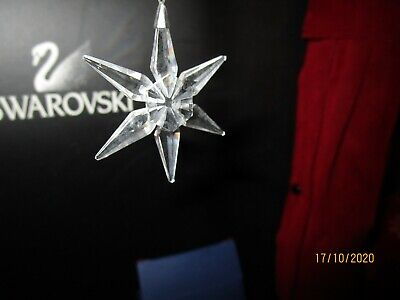 SWAROVSKI 2003 CHRISTMAS STAR 629306 Used Boxed Excellent Condition Lot 10f 2 • 15£