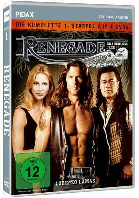 RENEGADE (Lorenzo Lamas -TV Series Complete First Season1 NEW Region 2 DVD • 42.95£
