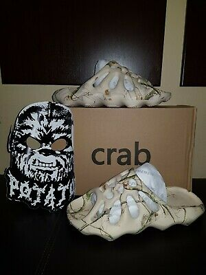 $ CDN219.52 • Buy Imran Potato Broiled Crab Slides Size 9 RARE SOLD OUT Yeezy Slippers Flip Flops