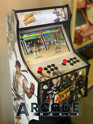 Full Size Arcade Machine - Street Fighter Themed - 3,188 Classic Games  • 599£