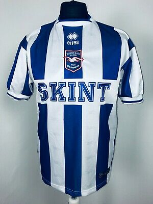 Brighton & Hove Albion Home Football Shirt 2002 - 2004 Soccer Jersey Size Small • 65£