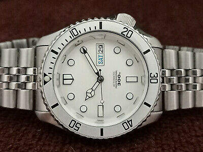 $ CDN233.36 • Buy Seiko Diver Stunning Silver Mm300 Mod 7s26-0020 Skx007 Automatic Men Watch 67167