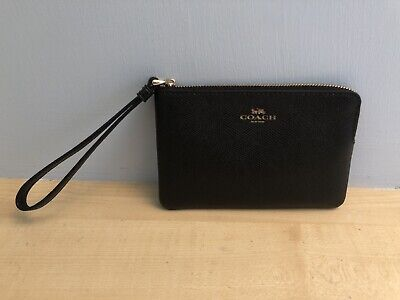 Coach Wristlet Bag/ Purse Wallet New With Zip And Bag • 18£