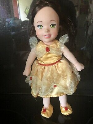 Disney Princess Beauty & The Beast - Belle Soft Bodied Doll By Zapf Creation • 5£