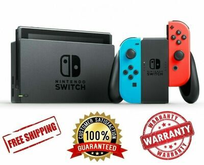 AU449 • Buy *NEW* Nintendo Switch 32Gb Neon Joy-Con Console (2019) | Currently IN STOCK