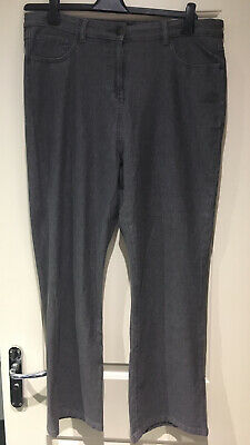 Simply Be Women Ladies Grey Jeans, Size 18 • 1£
