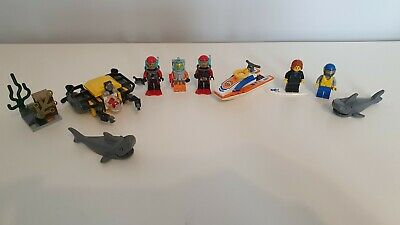 LEGO City Deep Sea Starter Set (60091) And Surfer Rescue (60011) • 9.99£